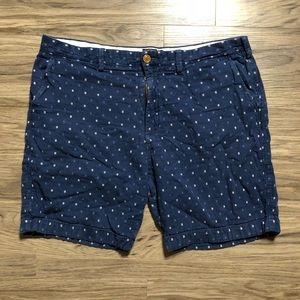 Jcrew gramercy dots shorts